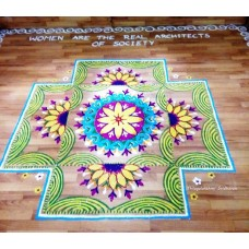 COMPETITION RANGOLI