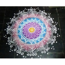 FREEHAND KOLAM VIDEO 02