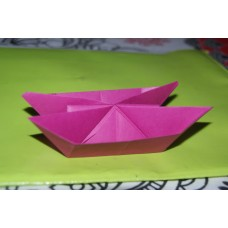 ORIGAMI DOUBLE BOAT