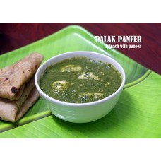 PALAK PANEER RECIPE | SPINACH PANEER RECIPE | HEALTHY PALAK GRAVY | பாலக் பன்னீர் ரெசிபி | पालक पनीर रेसिपी