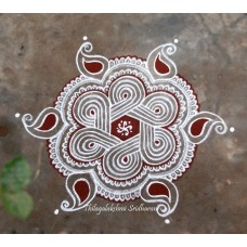 DOTTED KOLAM VIDEO 4