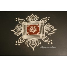 SIMPLE PADI KOLAM FOR VARALAKSHMI POOJA