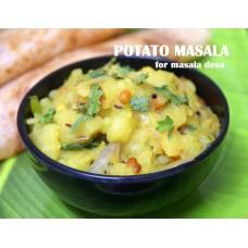 POTATO MASALA RECIPE | आलू सब्ज़ी रेसिपी  | உருளை க் கிழங்கு மசாலா ரெஸிபி