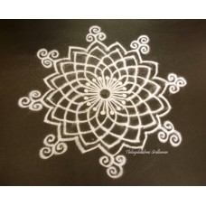 FREEHAND KOLAM VIDEO 09