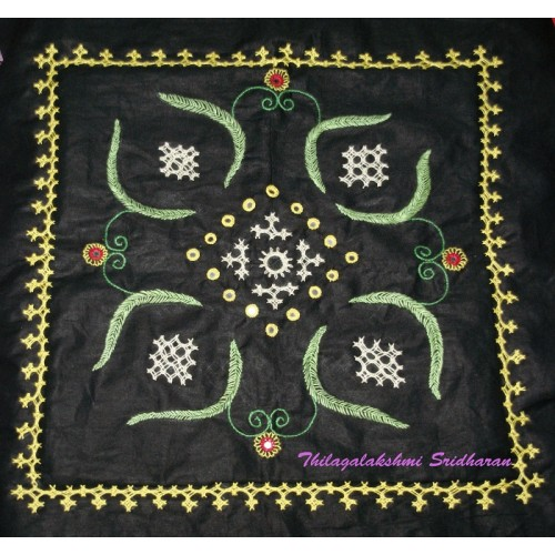 EMBROIDERY - KUTCH WORK WITH MIRROR