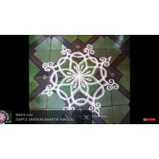 FREEHAND KOLAM VIDEO 10