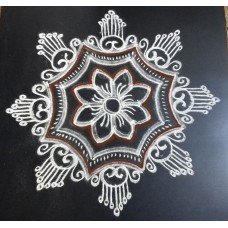 FREEHAND KOLAM VIDEO 11