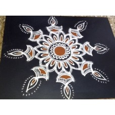 FREEHAND KOLAM VIDEO 13