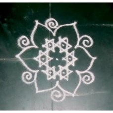 FREEHAND KOLAM VIDEO 14