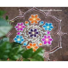 DOTTED KOLAM VIDEO 1