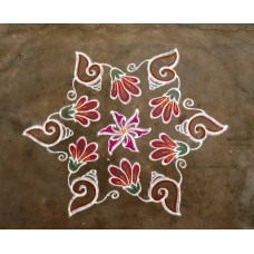 DOTTED KOLAM VIDEO 6