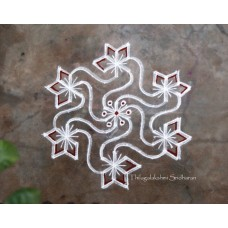 DOTTED KOLAM VIDEO 3