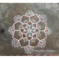 FREEHAND KOLAM VIDEO 08