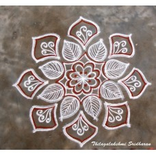 FREEHAND KOLAM VIDEO 06