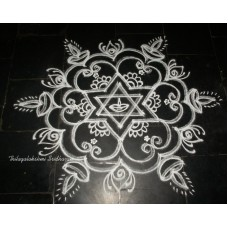 FREEHAND KOLAM VIDEO 04