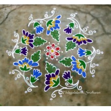DOTTED KOLAM VIDEO 2