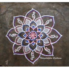 FREEHAND KOLAM VIDEO 05
