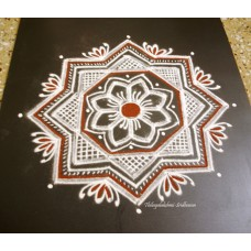 FREEHAND KOLAM VIDEO 12