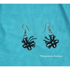 TATTED EARRINGS - BUTTERFLY