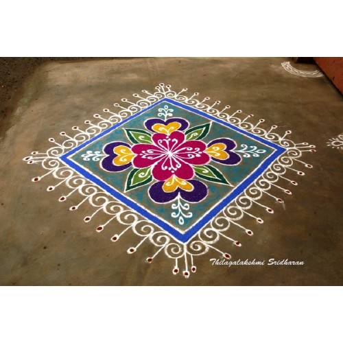 CARPET RANGOLI 01